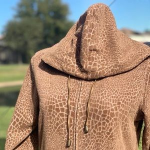 Zenergy by CHICO'S Textured Jacket with a Hood